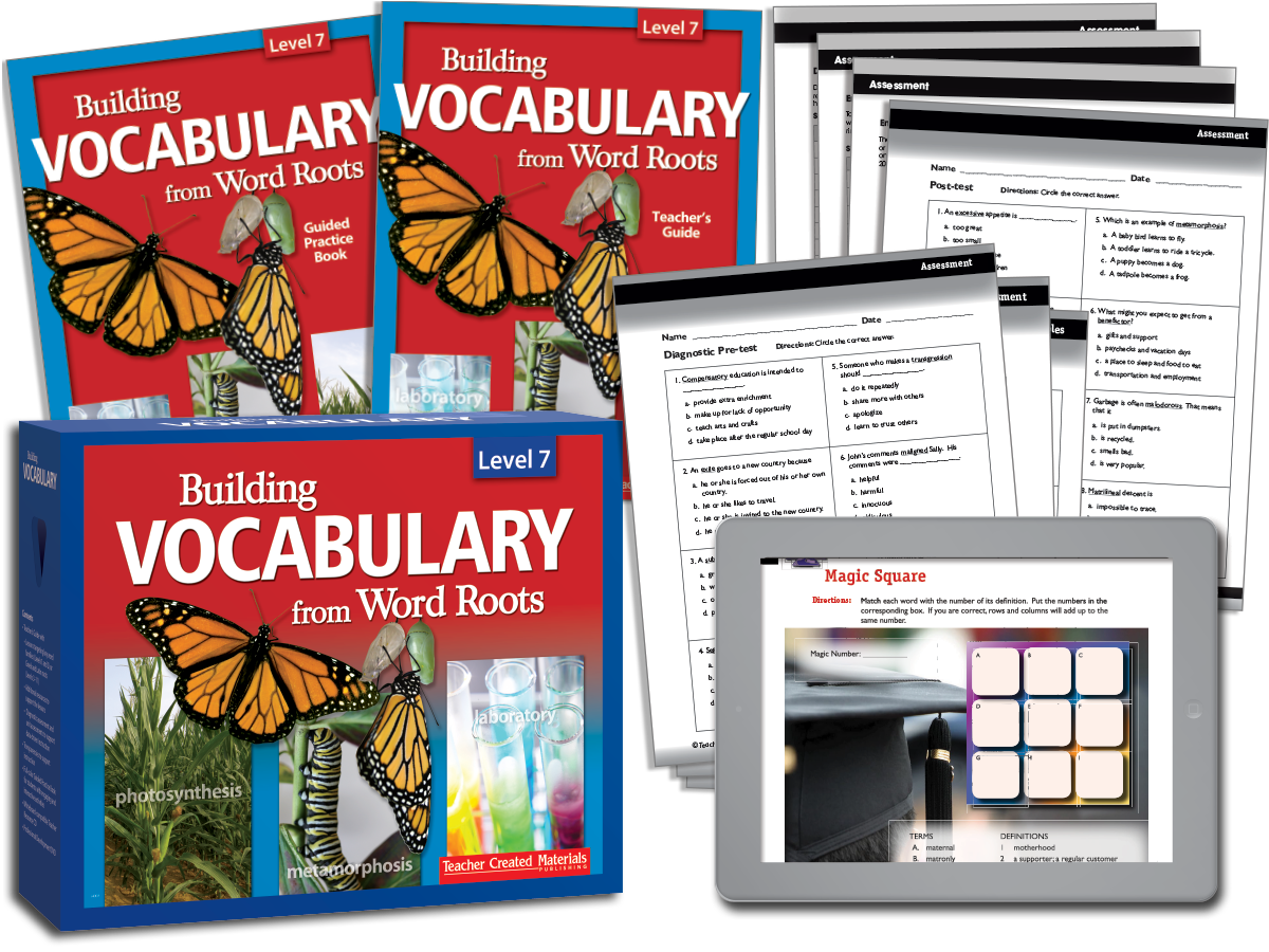 Building Vocabulary: Level 7 Kit