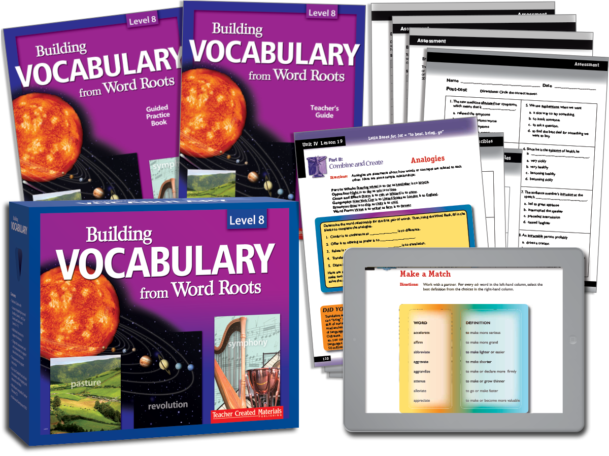 Building Vocabulary: Level 8 Kit