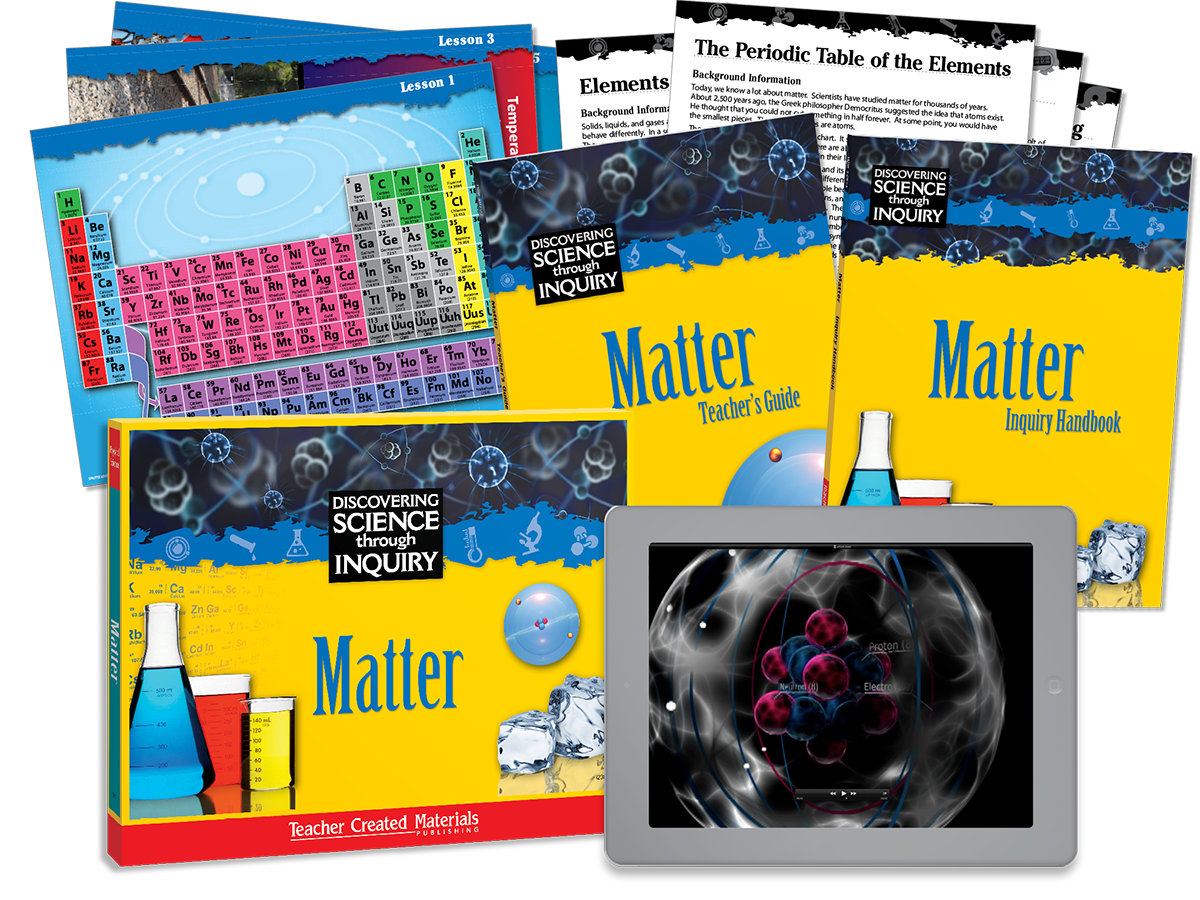 Discovering Science Through Inquiry: Matter Kit