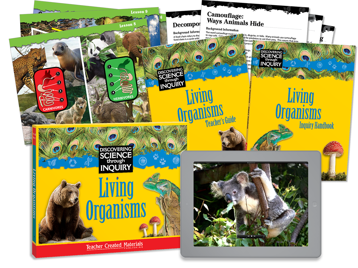 Discovering Science Through Inquiry: Living Organisms Kit