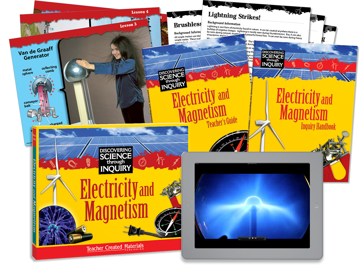 Discovering Science Through Inquiry: Electricity and Magnetism Kit