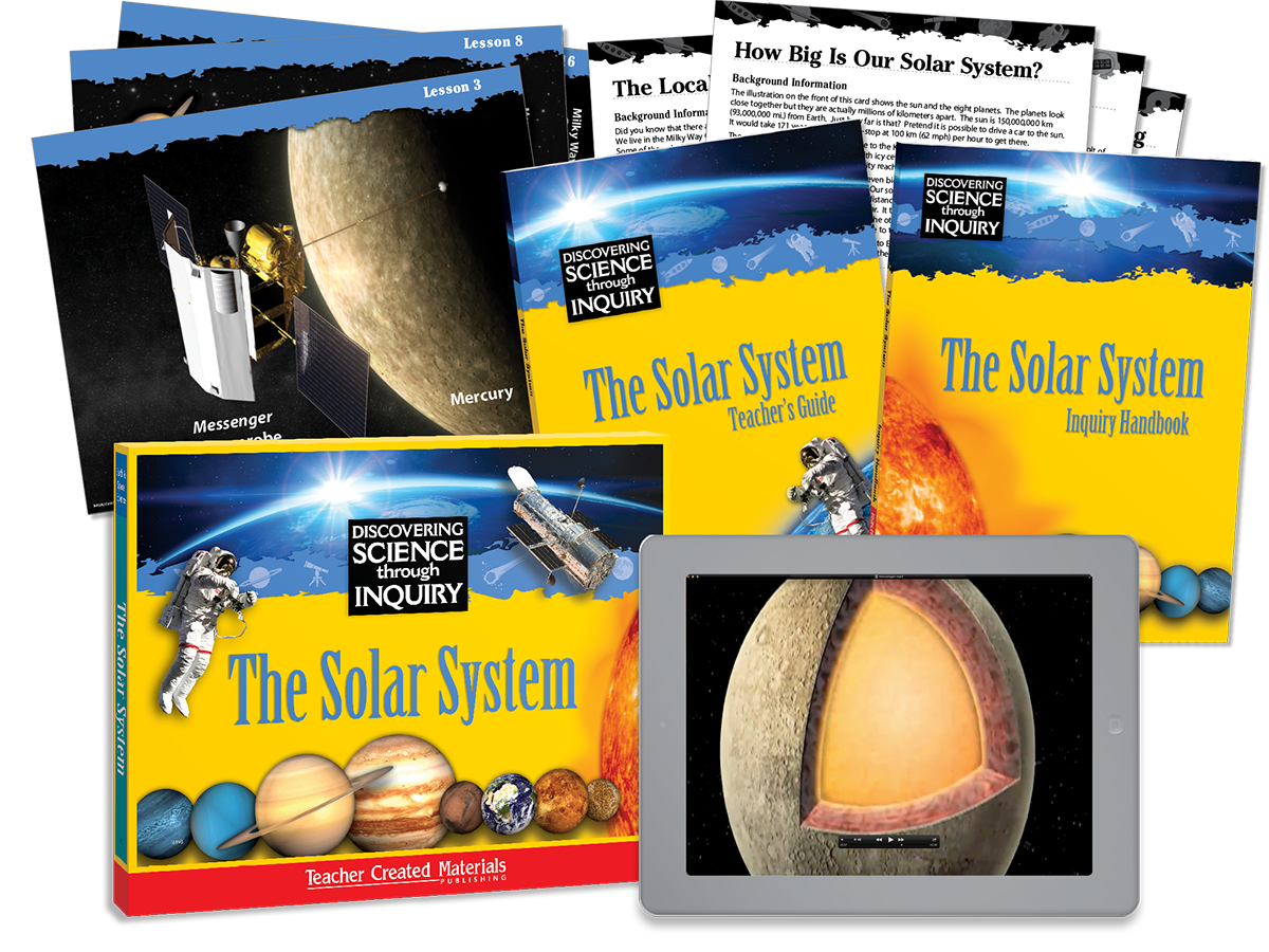 Discovering Science Through Inquiry: The Solar System Kit