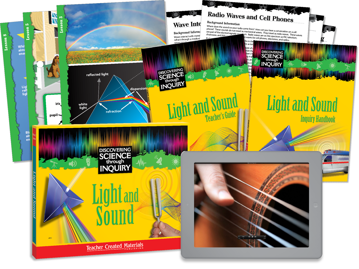 Discovering Science Through Inquiry: Light and Sound Kit