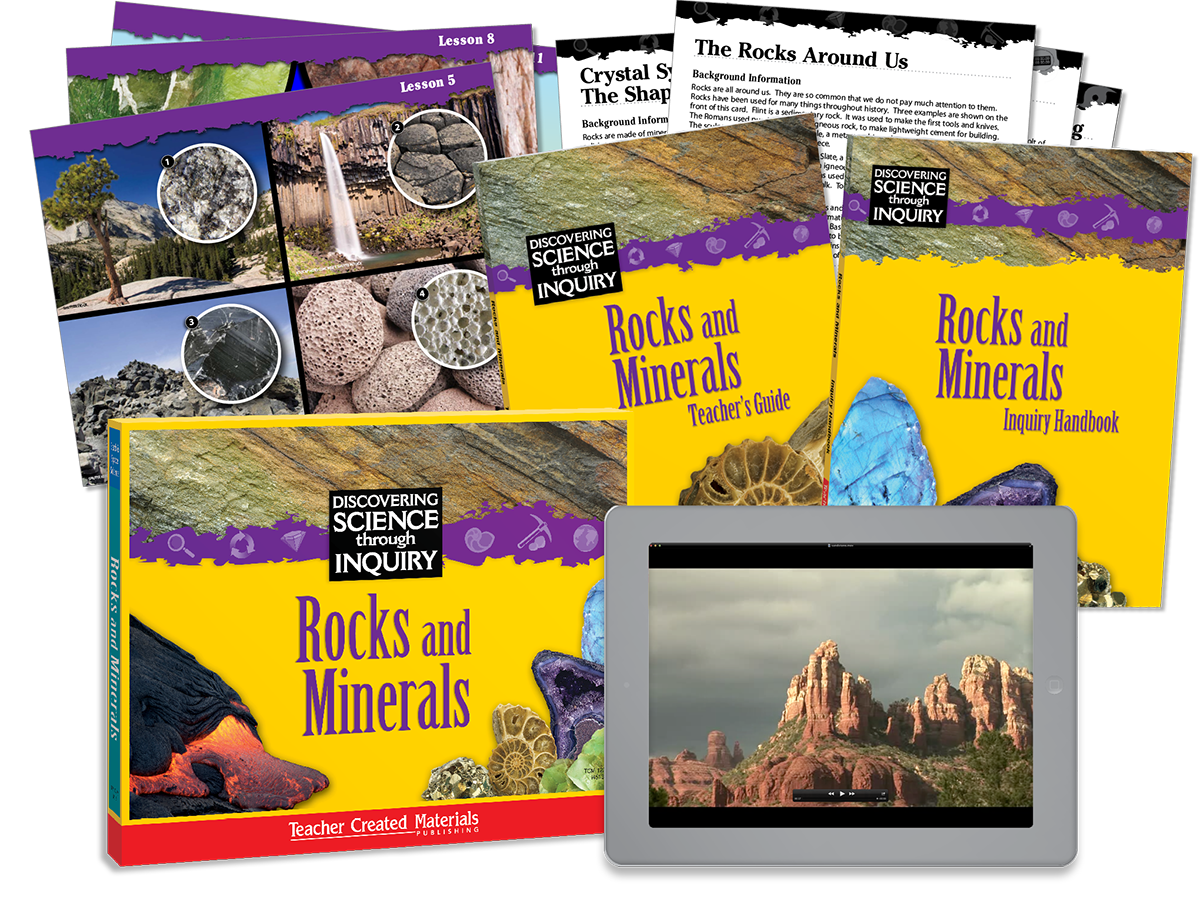 Discovering Science Through Inquiry: Rocks and Minerals Kit