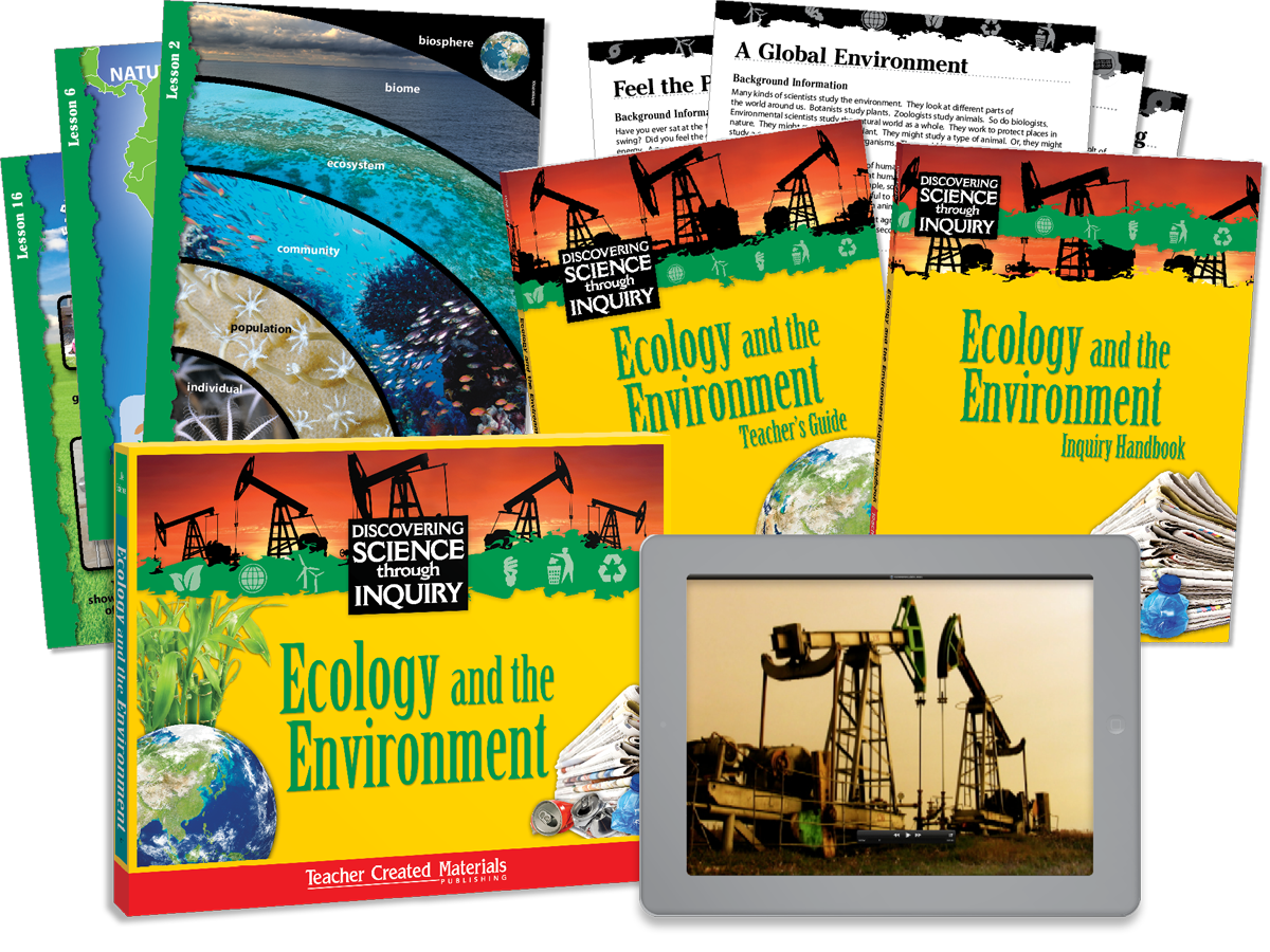 Discovering Science Through Inquiry: Ecology and the Environment Kit