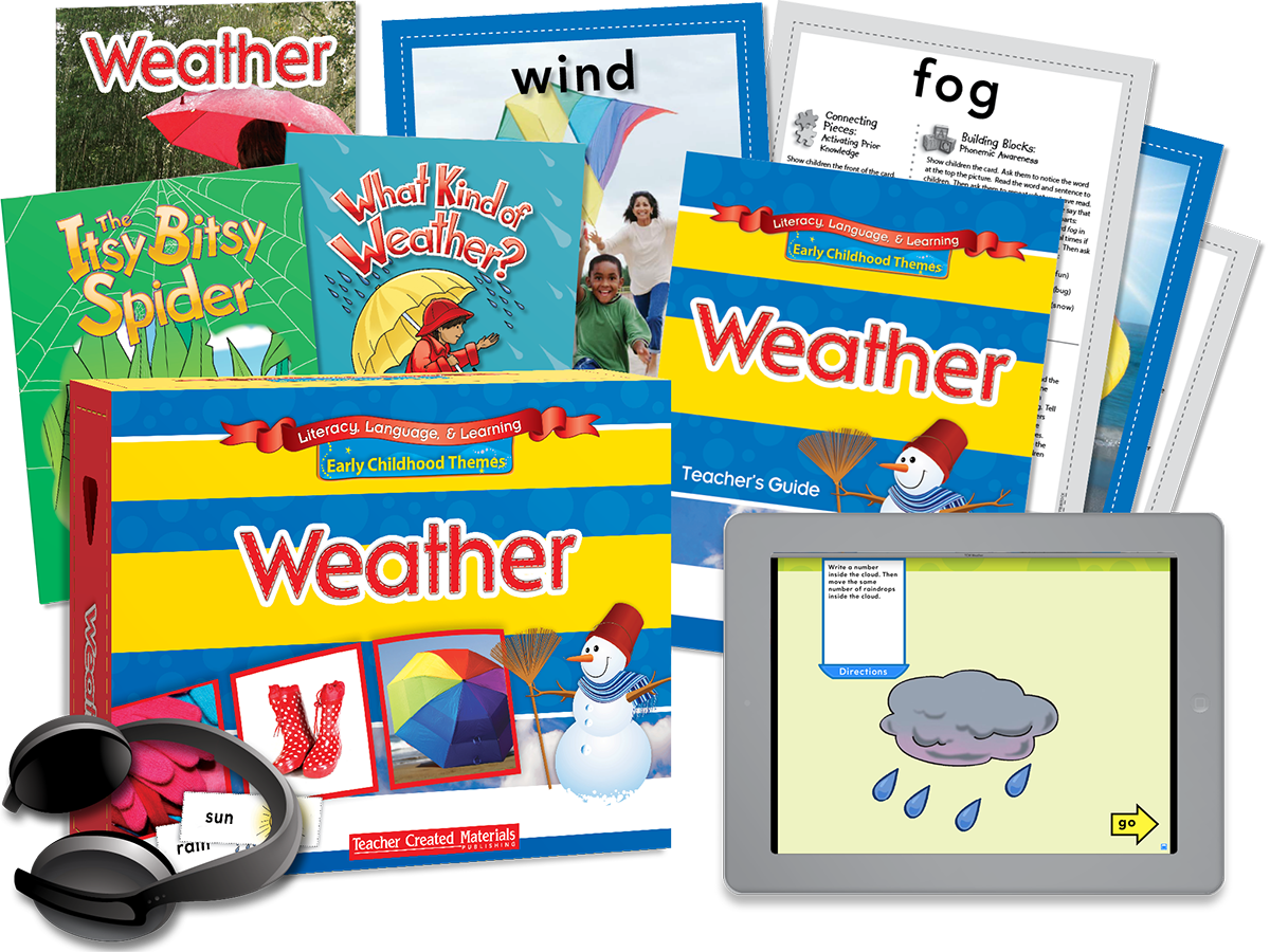 Early Childhood Themes: Weather Kit