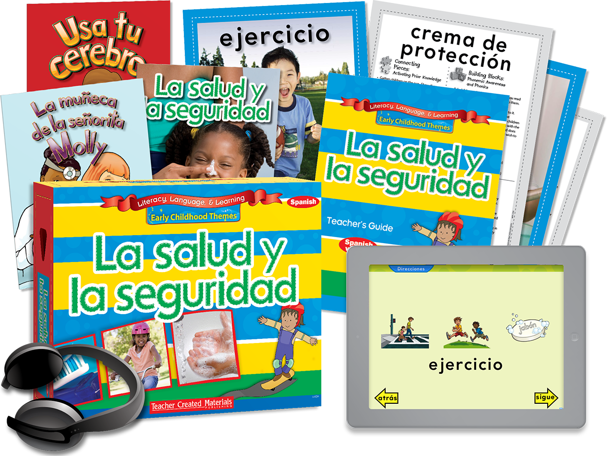 Early Childhood Themes: La salud y la seguridad (Health and Safety) Kit (Spanish Version)
