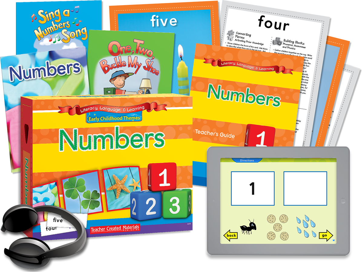 Early Childhood Themes: Numbers Kit