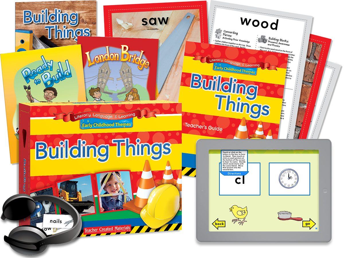 Early Childhood Themes: Building Things Kit
