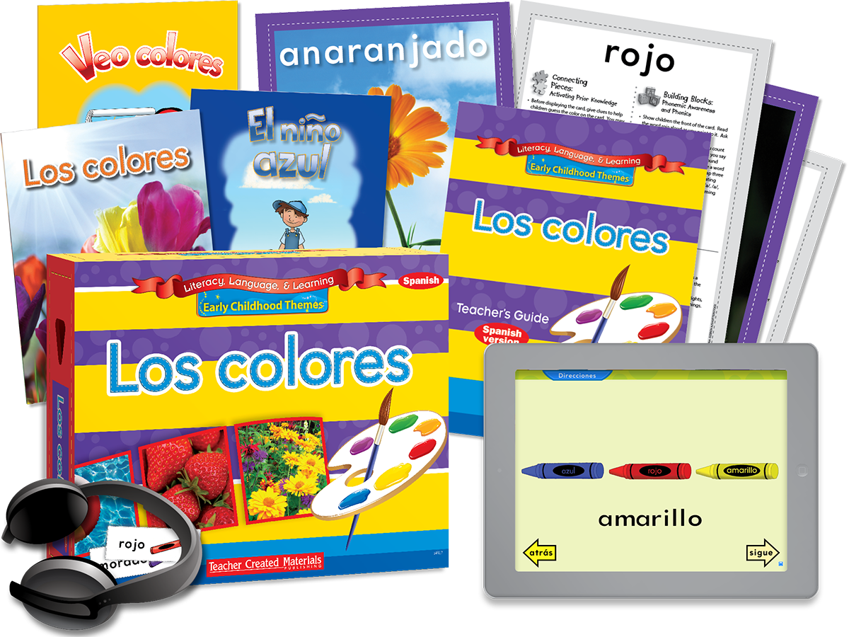 Early Childhood Themes: Los colores (Colors) Kit (Spanish Version)