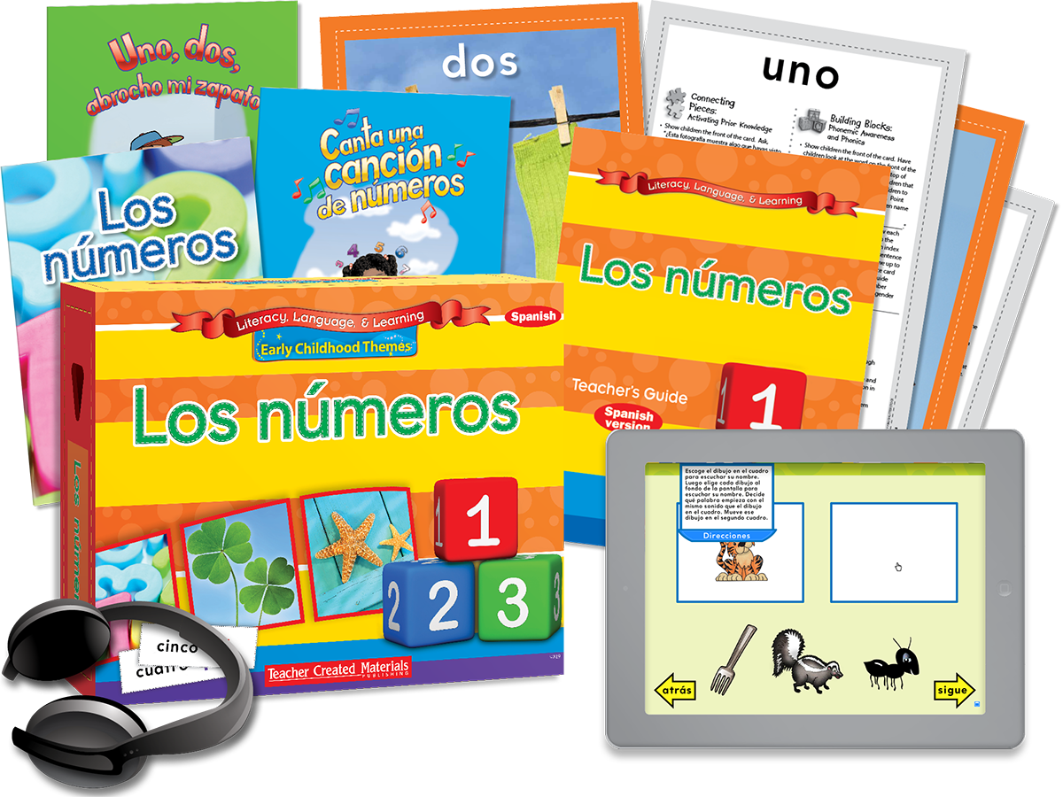 Early Childhood Themes: Los números (Numbers) Kit (Spanish Version)