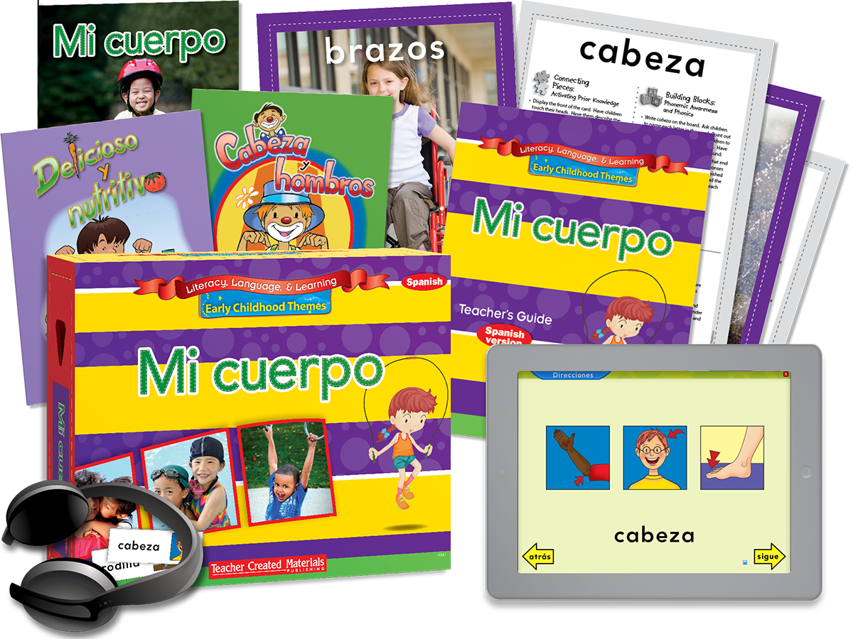Early Childhood Themes: Mi cuerpo (My Body) Kit (Spanish Version)
