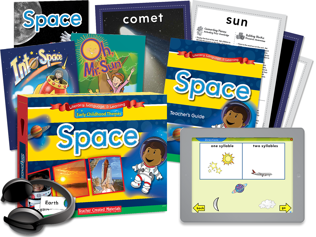 Early Childhood Themes: Space Kit