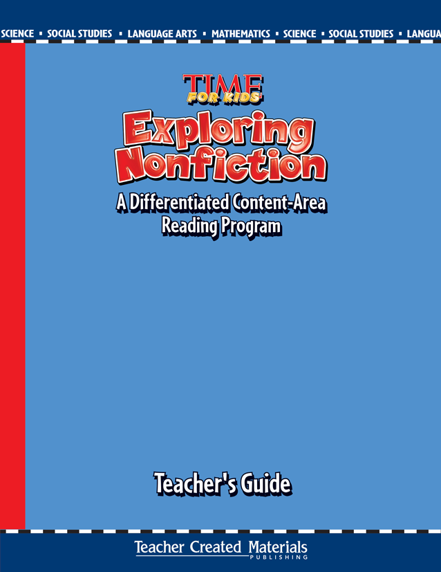 Teacher's Guides with lessons for each content area