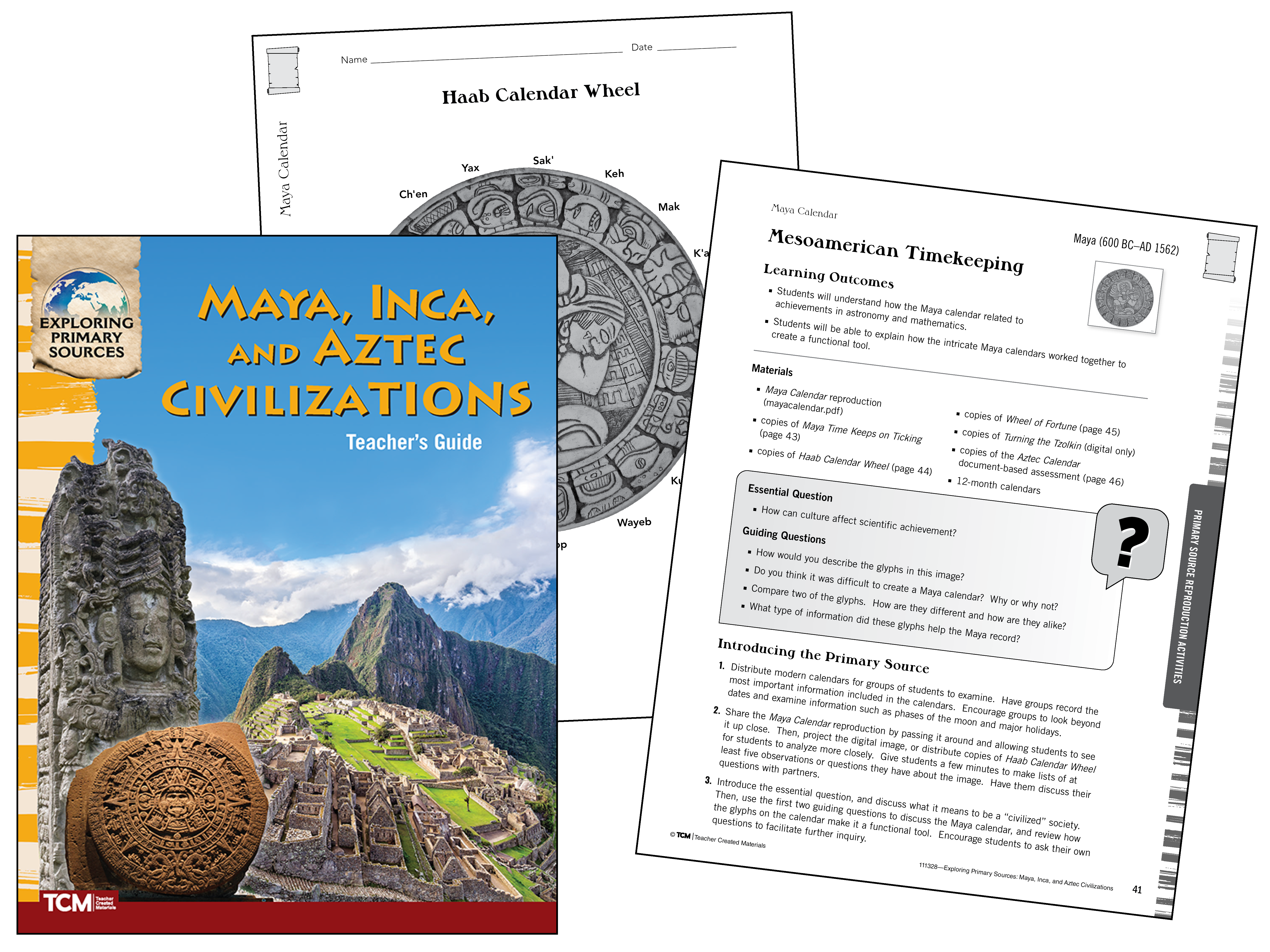 Exploring Primary Sources: Maya, Inca, and Aztec Civilizations, 2nd Edition