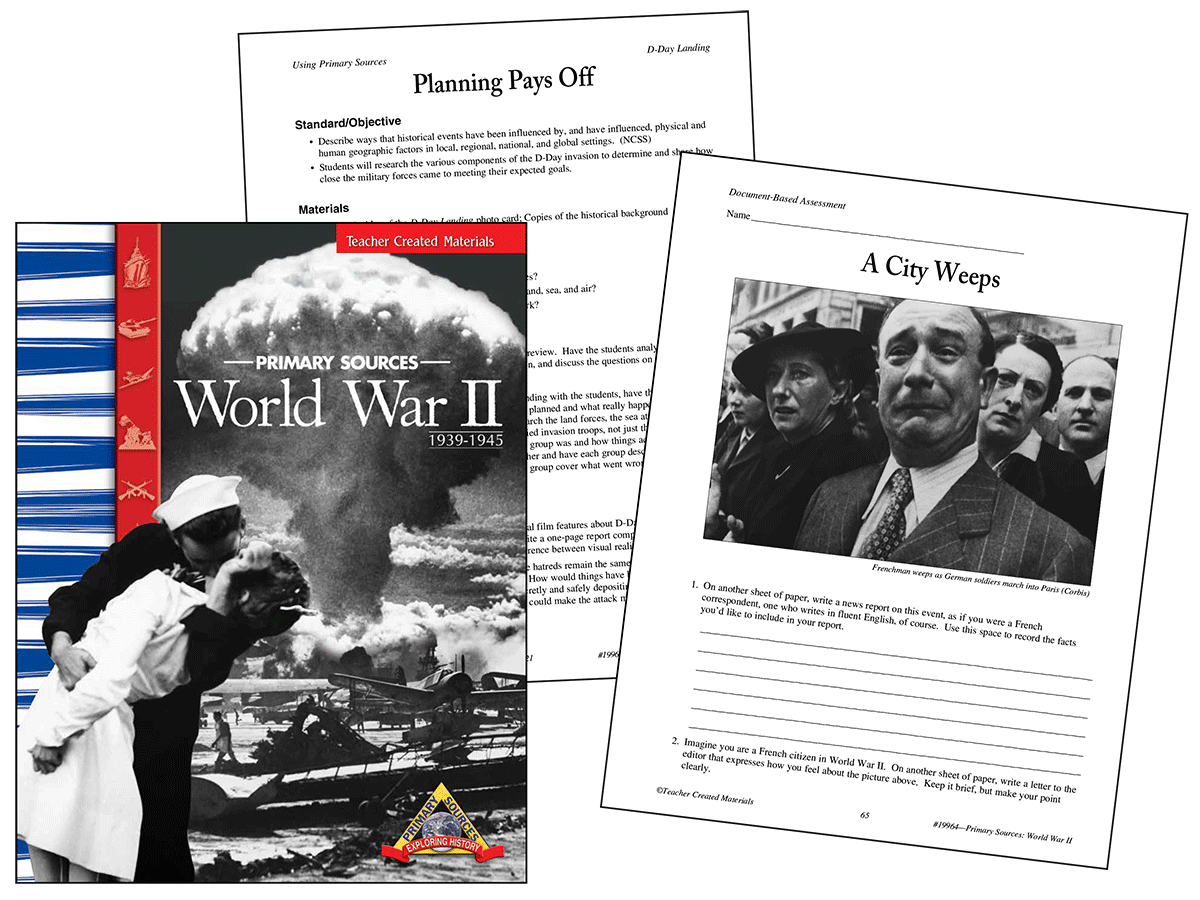 Primary Sources: World War II Kit