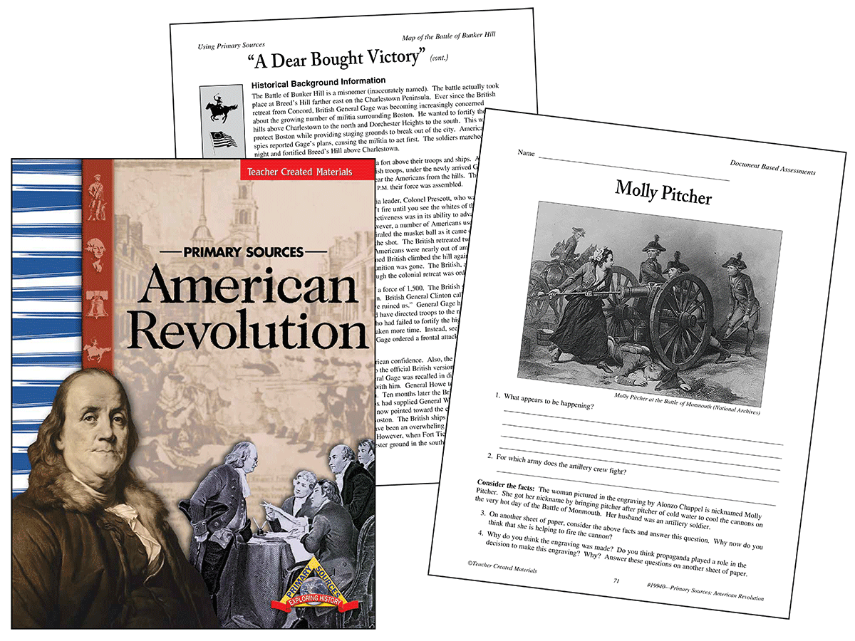 Primary Sources: American Revolution Kit