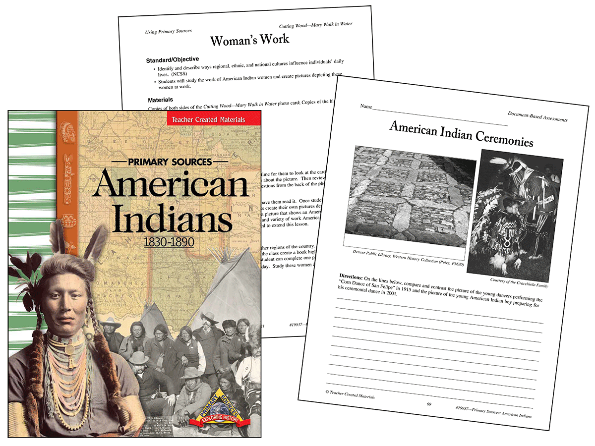 Primary Sources: American Indians Kit