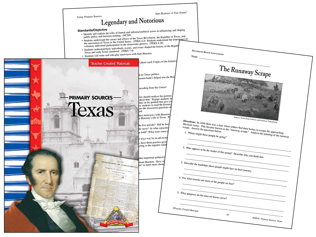 Primary Sources: Texas Kit
