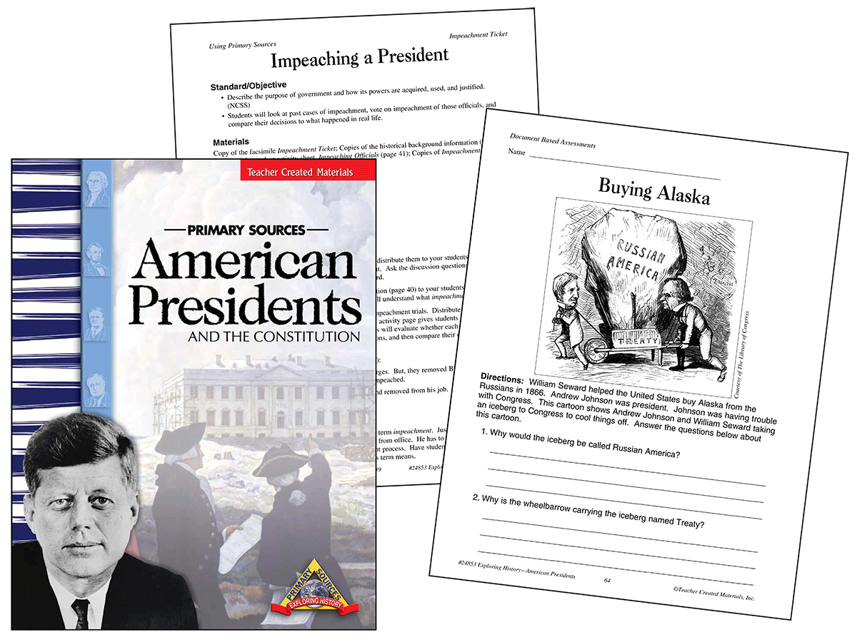 Primary Sources: American Presidents and the Constitution Kit