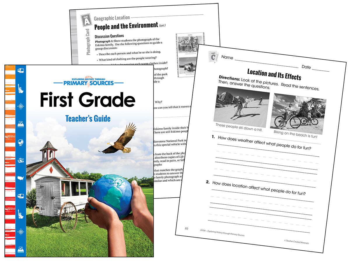 Primary Sources: First Grade Kit