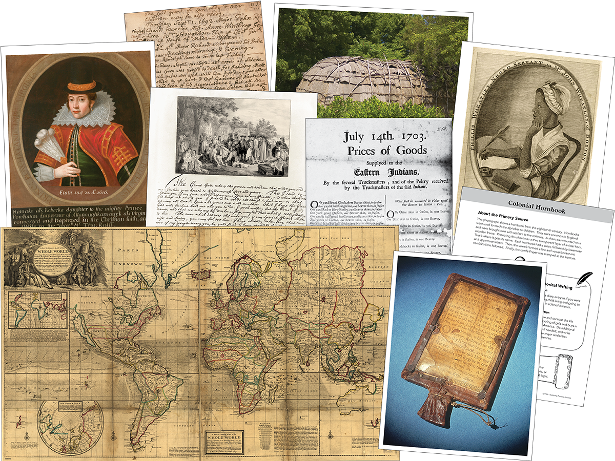 Exploring Primary Sources: Colonial America, 2nd Edition Kit