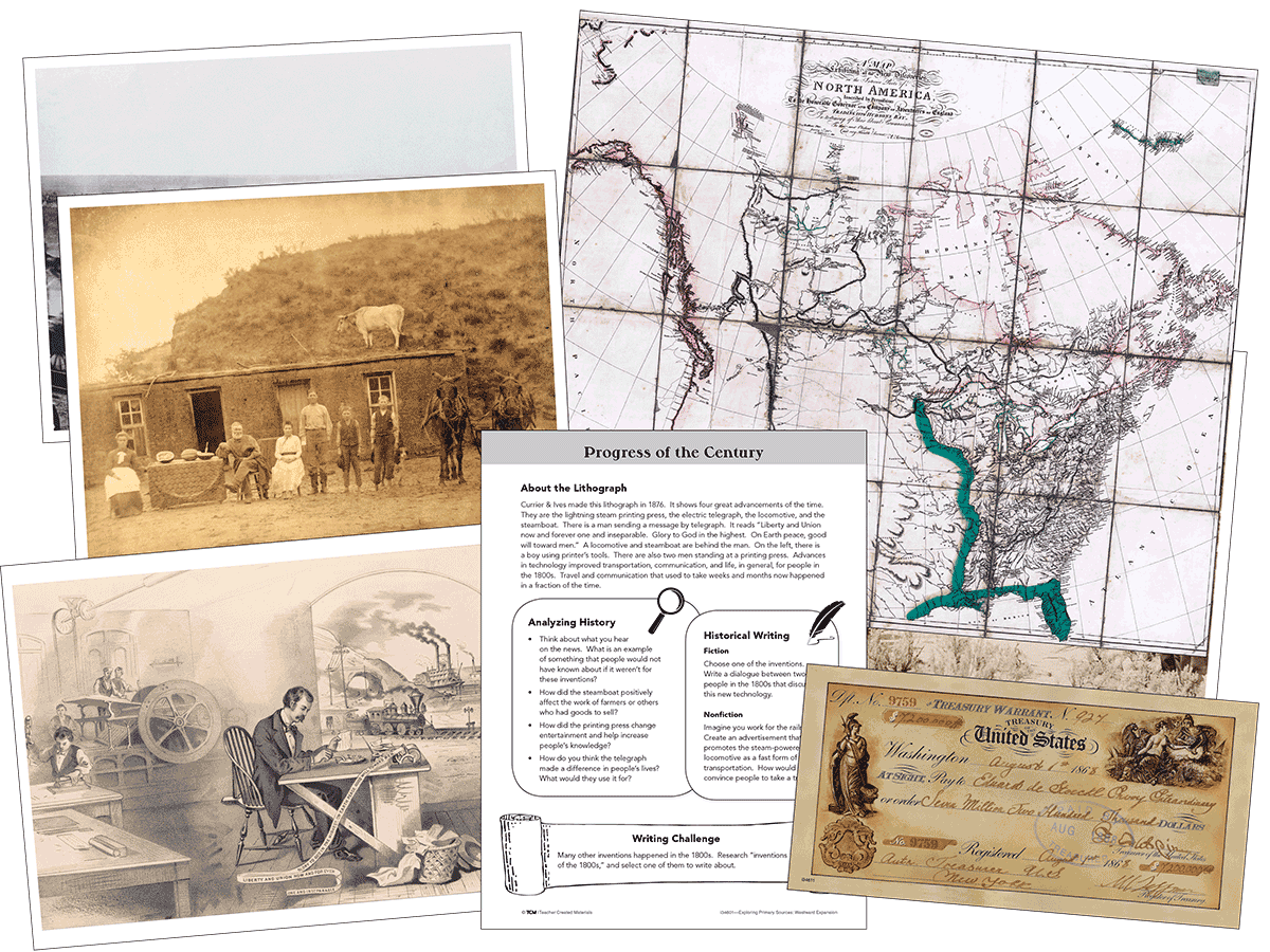 Exploring Primary Sources: Westward Expansion, 2nd Edition Kit