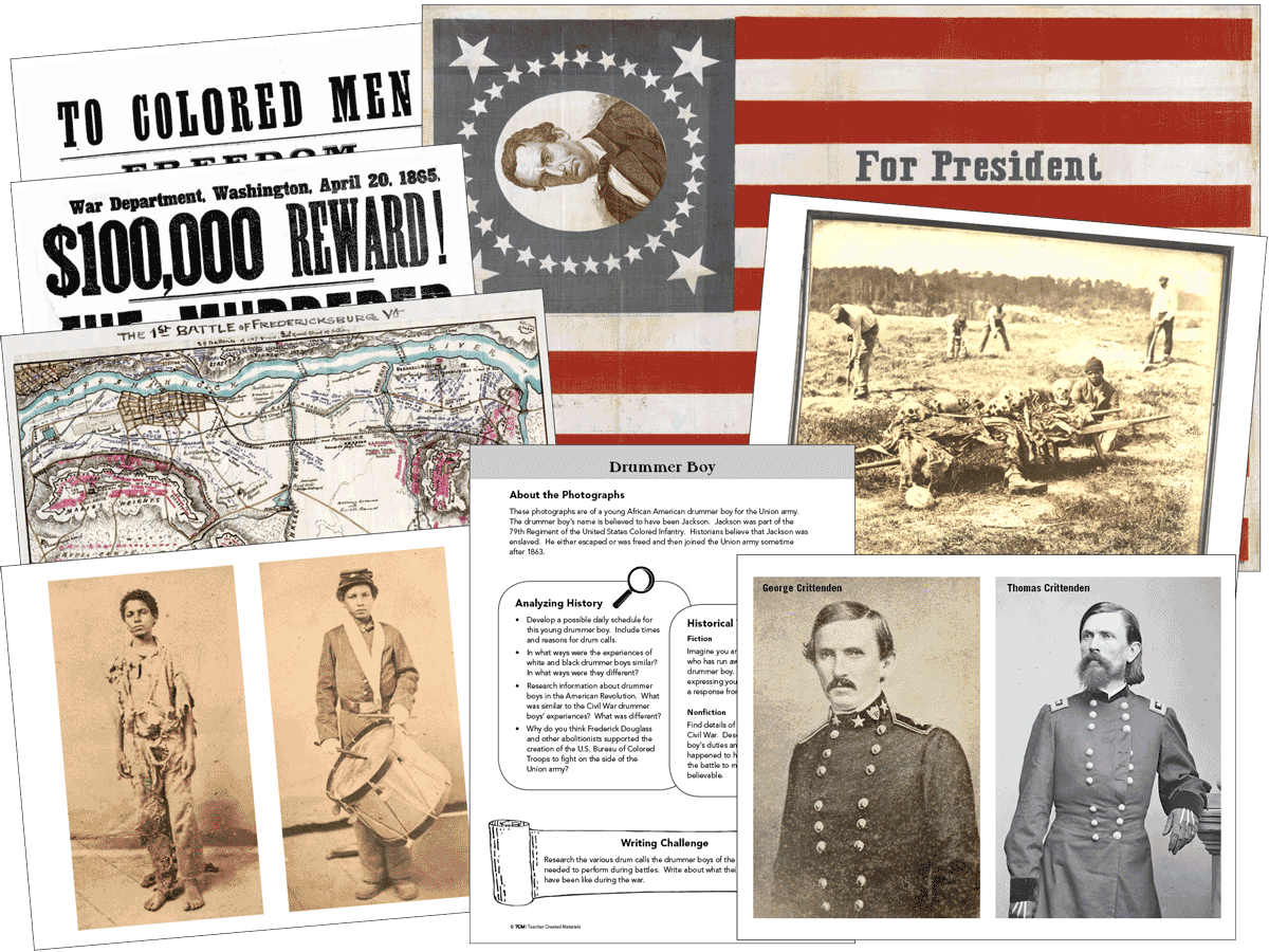 Primary Sources: Civil War Kit