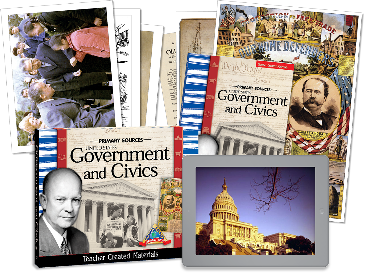 Primary Sources: United States Government and Civics Kit