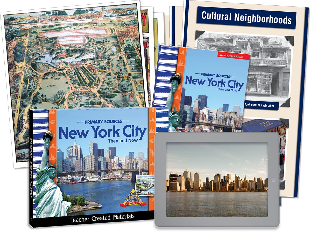 Primary Sources: New York City Then and Now Kit
