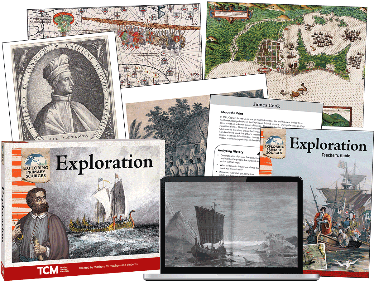 Exploring Primary Sources: Exploration, 2nd Edition Kit