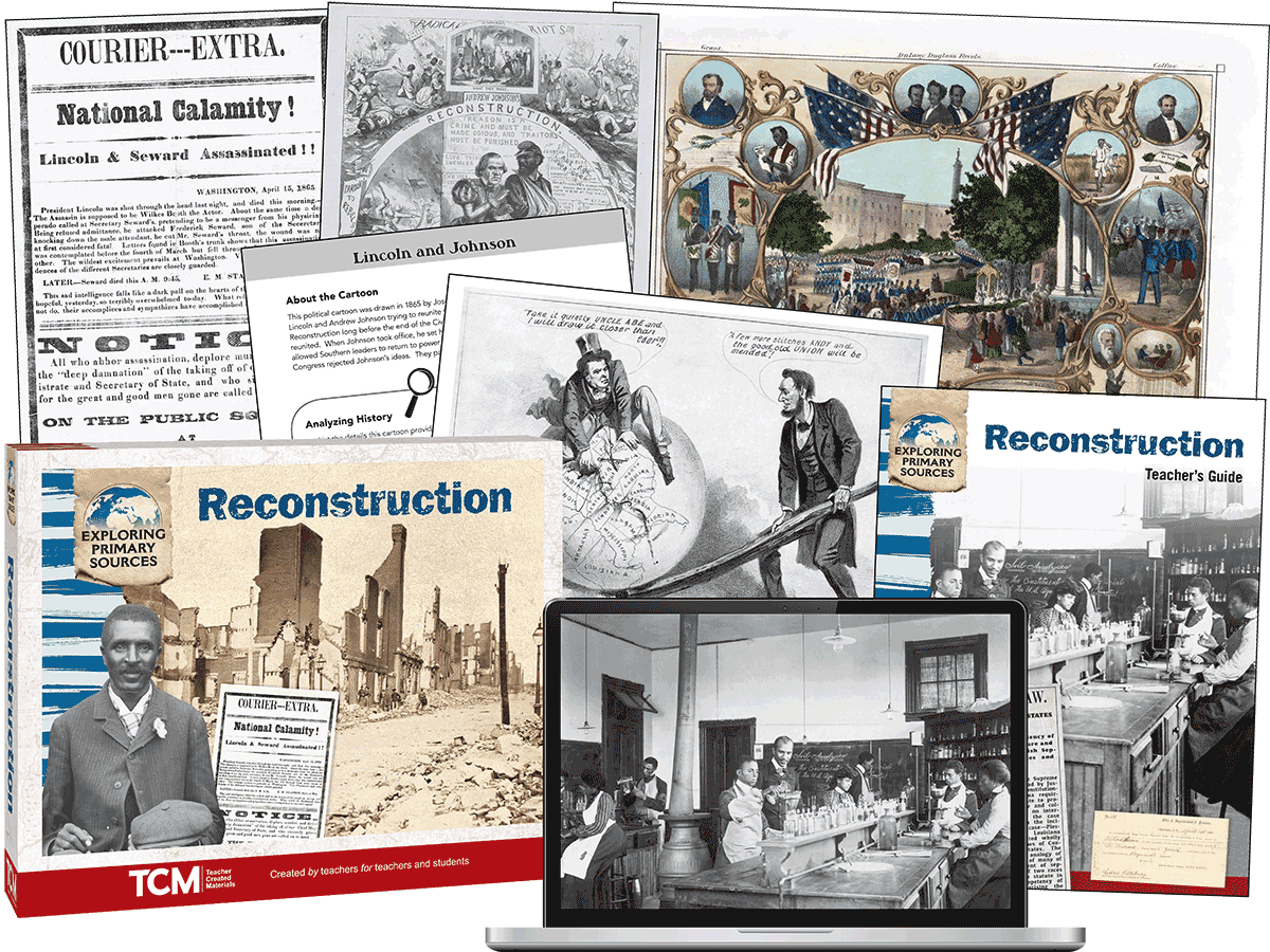 Exploring Primary Sources: Reconstruction, 2nd Edition