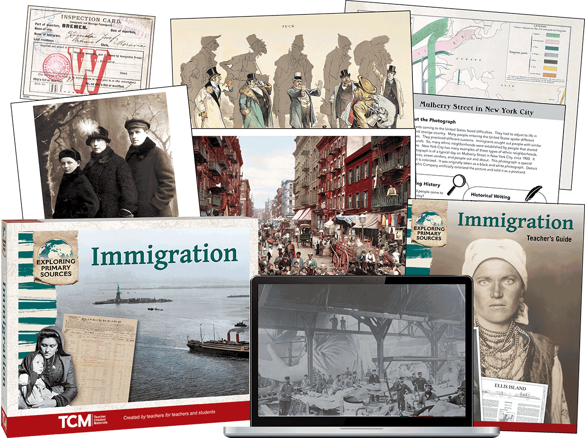 Exploring Primary Sources: Immigration, 2nd Edition Kit