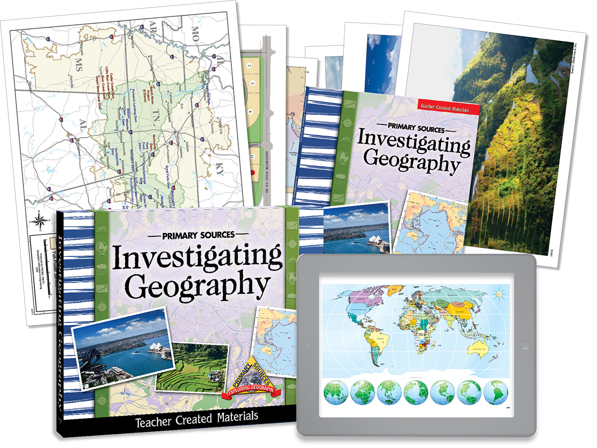 Primary Sources: Investigating Geography Kit