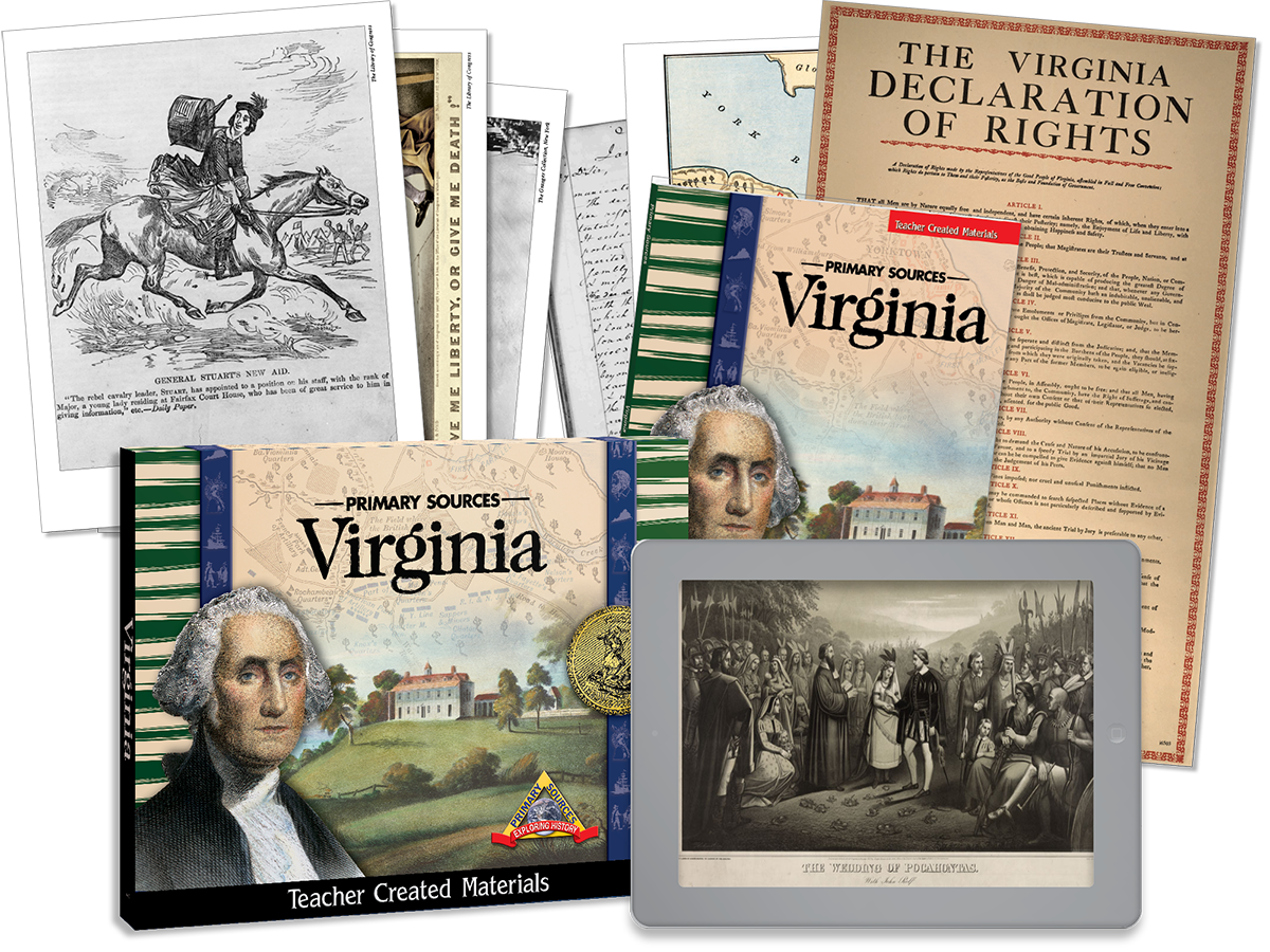 Primary Sources: Virginia Kit