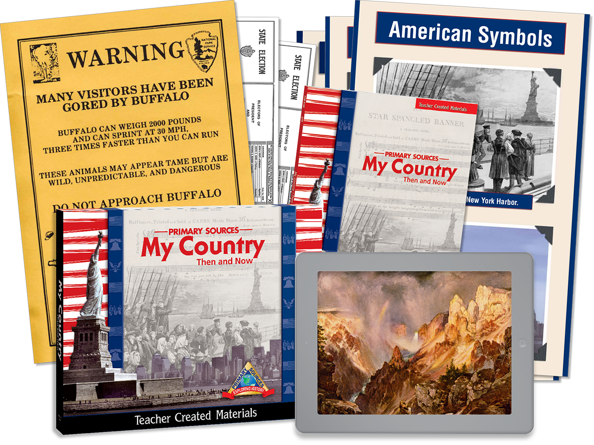 Primary Sources: My Country Then and Now Kit