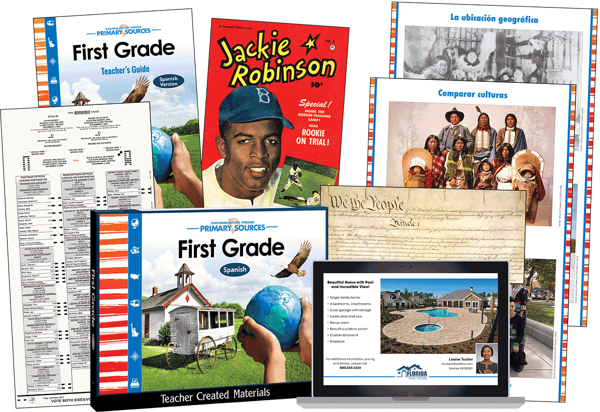 Primary Sources: First Grade Kit (Spanish)