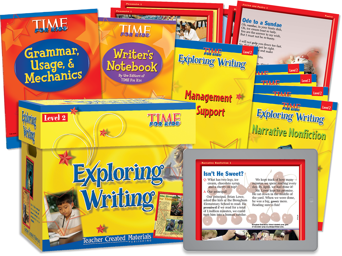 Exploring Writing: Level 2 Kit