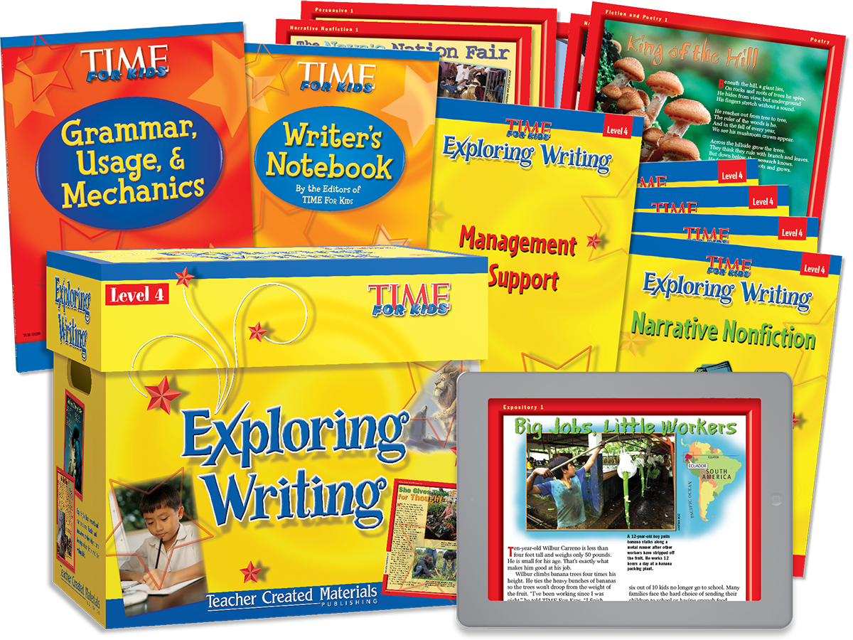 Exploring Writing: Level 4 Kit