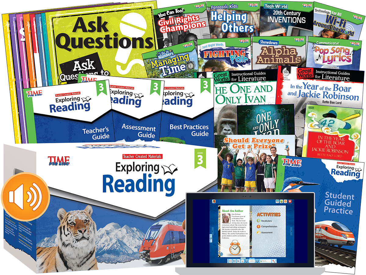 Exploring Reading: Level 3 Complete Kit