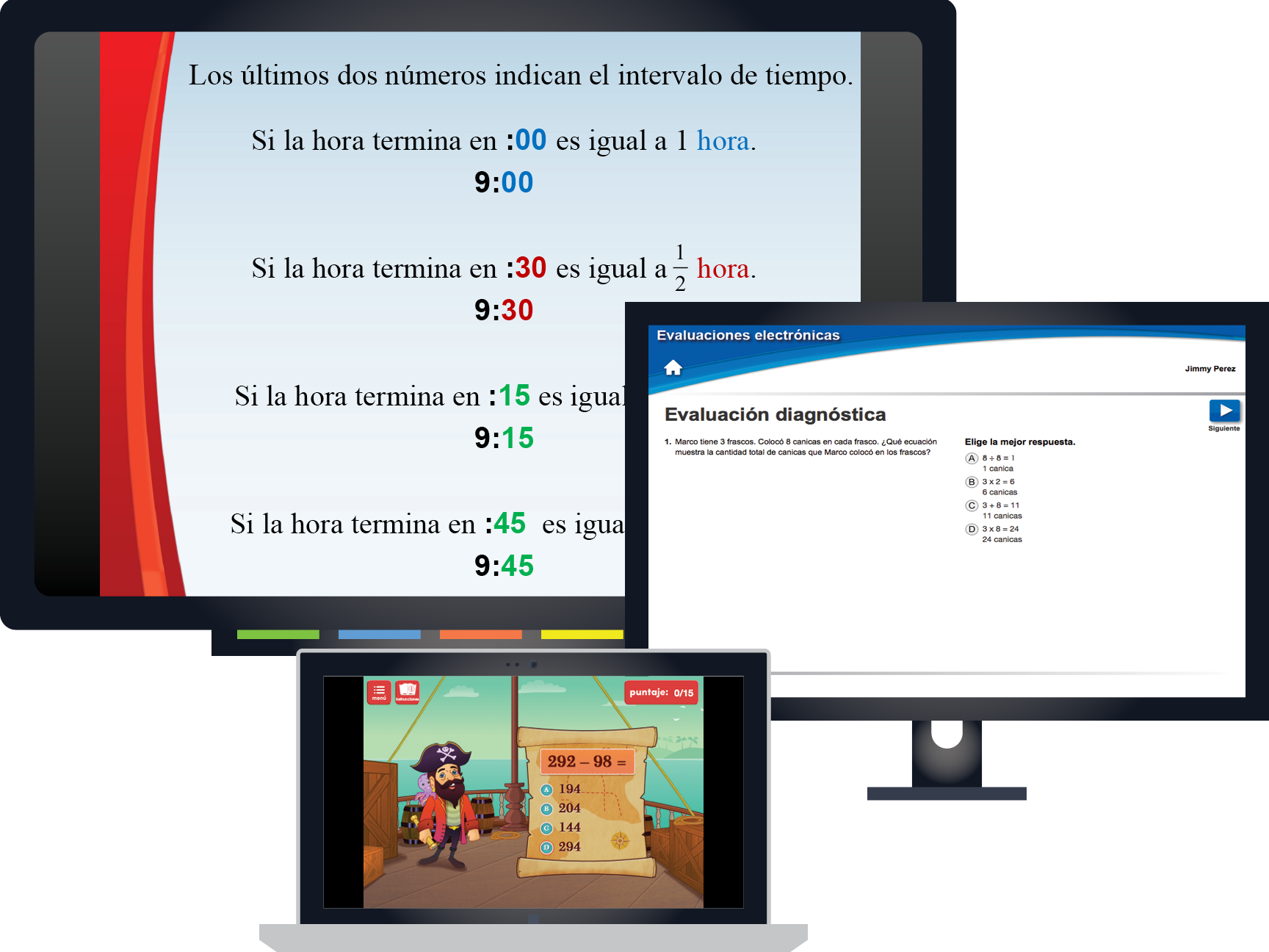 Focused Mathematics Intervention: Nivel 3 (Level 3): Spanish Kit