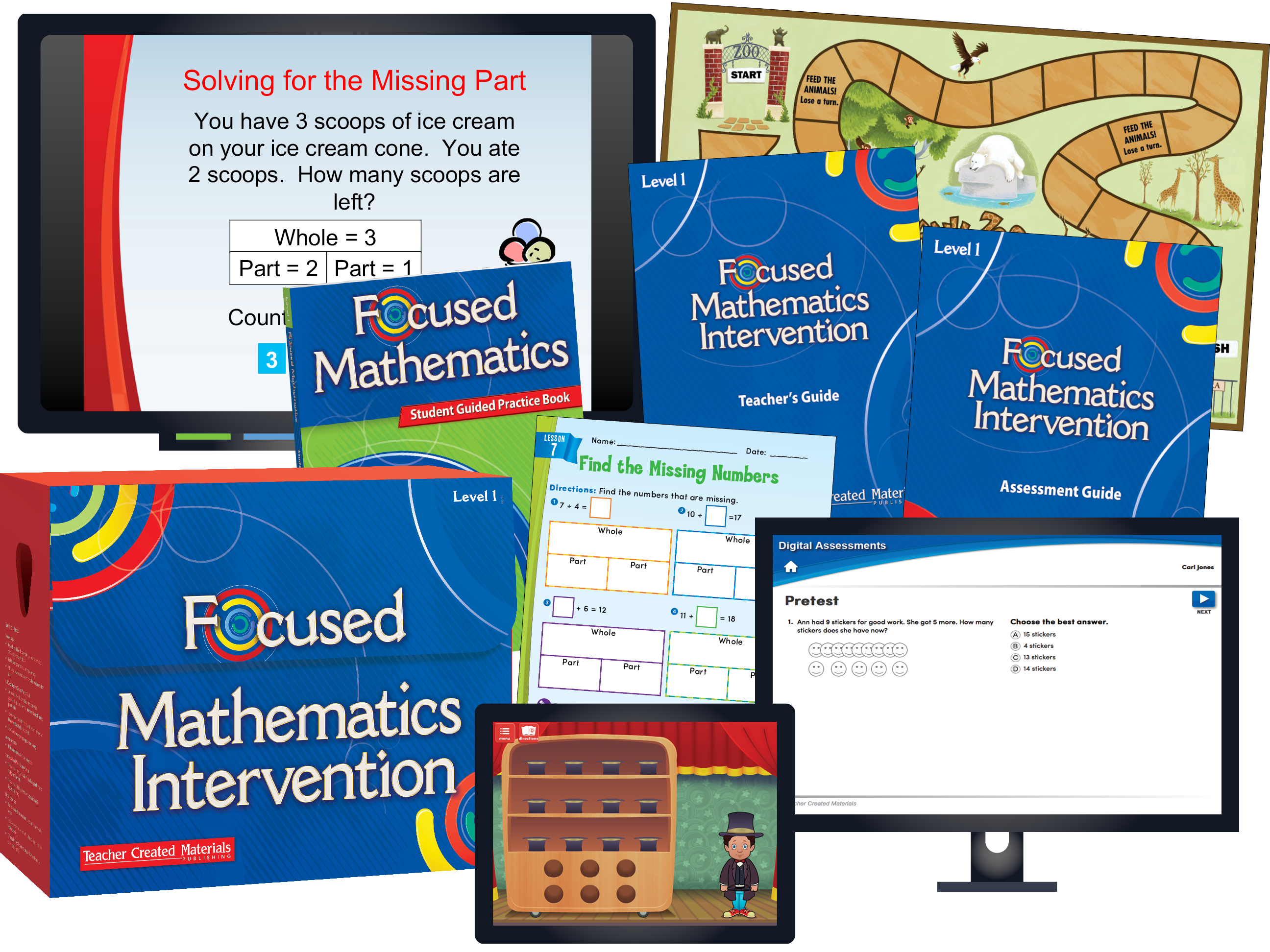Focused Mathematics Intervention: Level 1 Kit