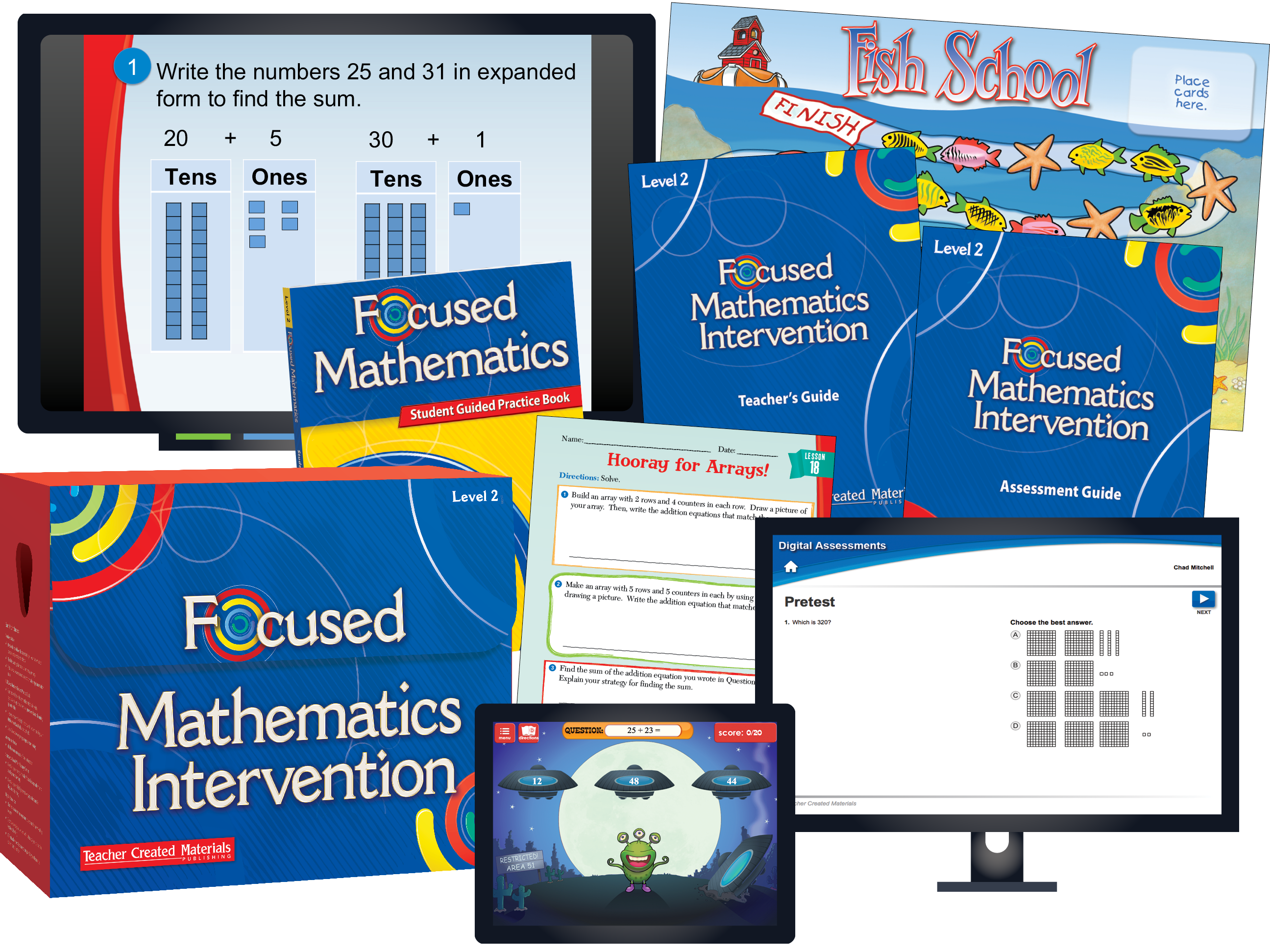 Focused Mathematics Intervention: Level 2 Kit