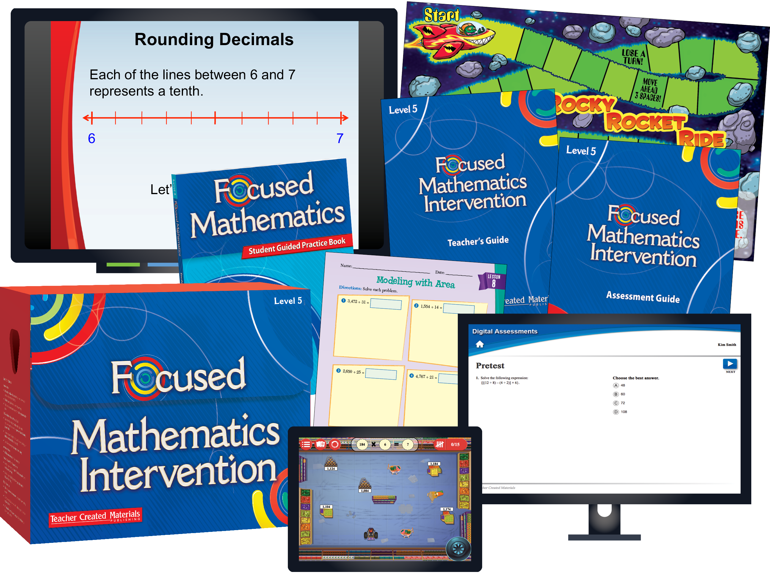 Focused Mathematics Intervention: Level 5 Kit