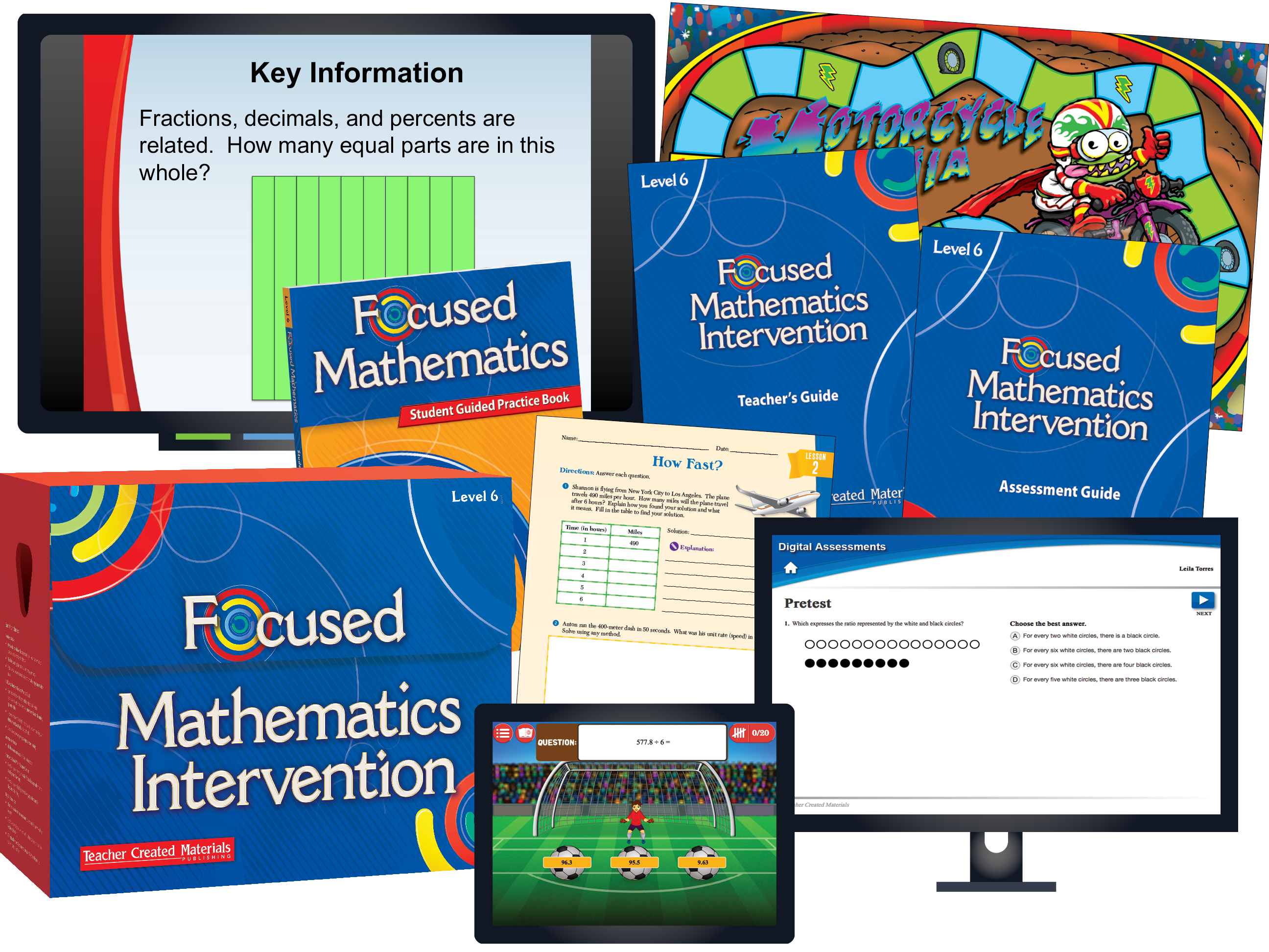 Focused Mathematics Intervention: Level 6 Kit