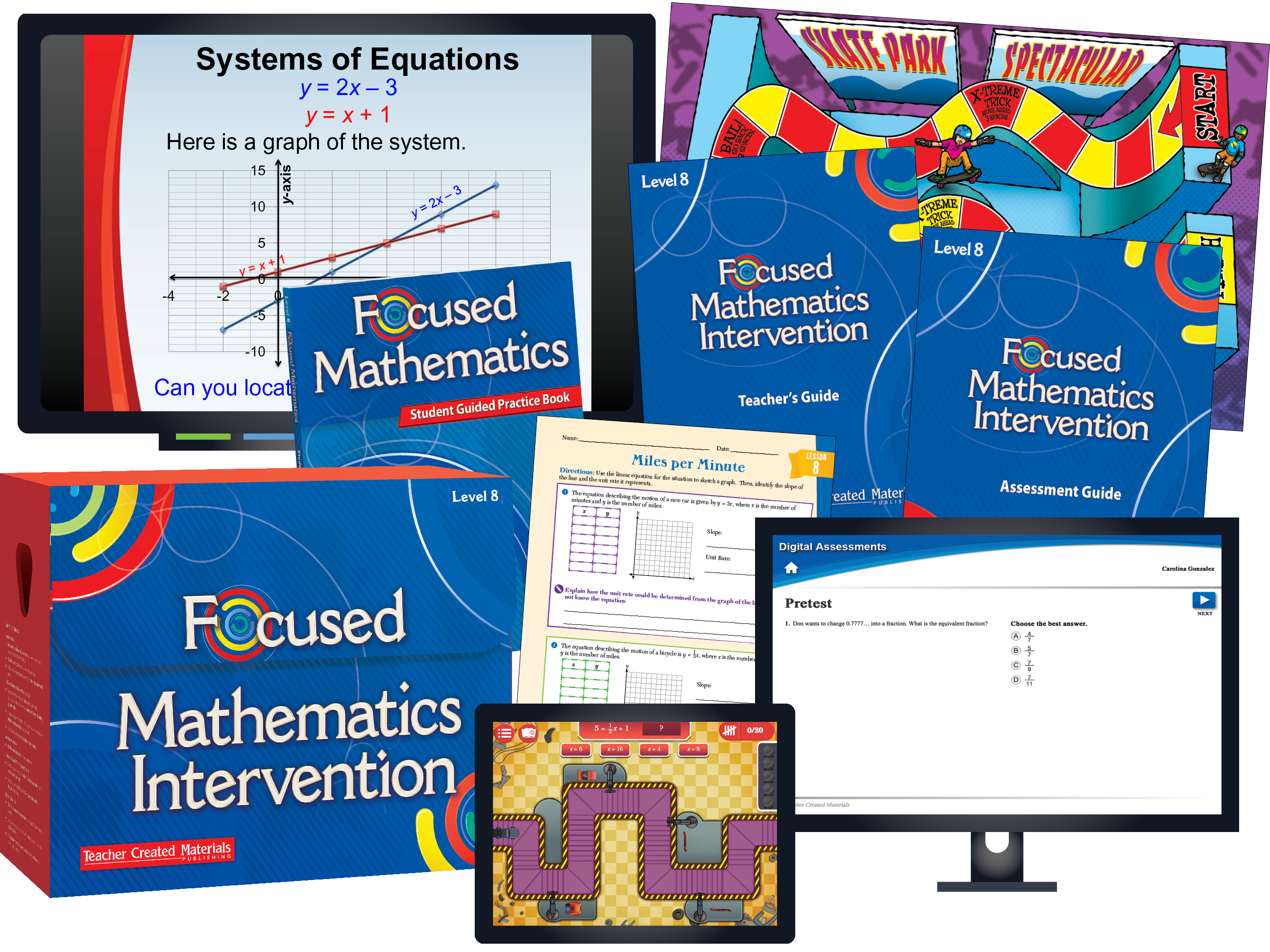 Focused Mathematics Intervention: Level 8 Kit