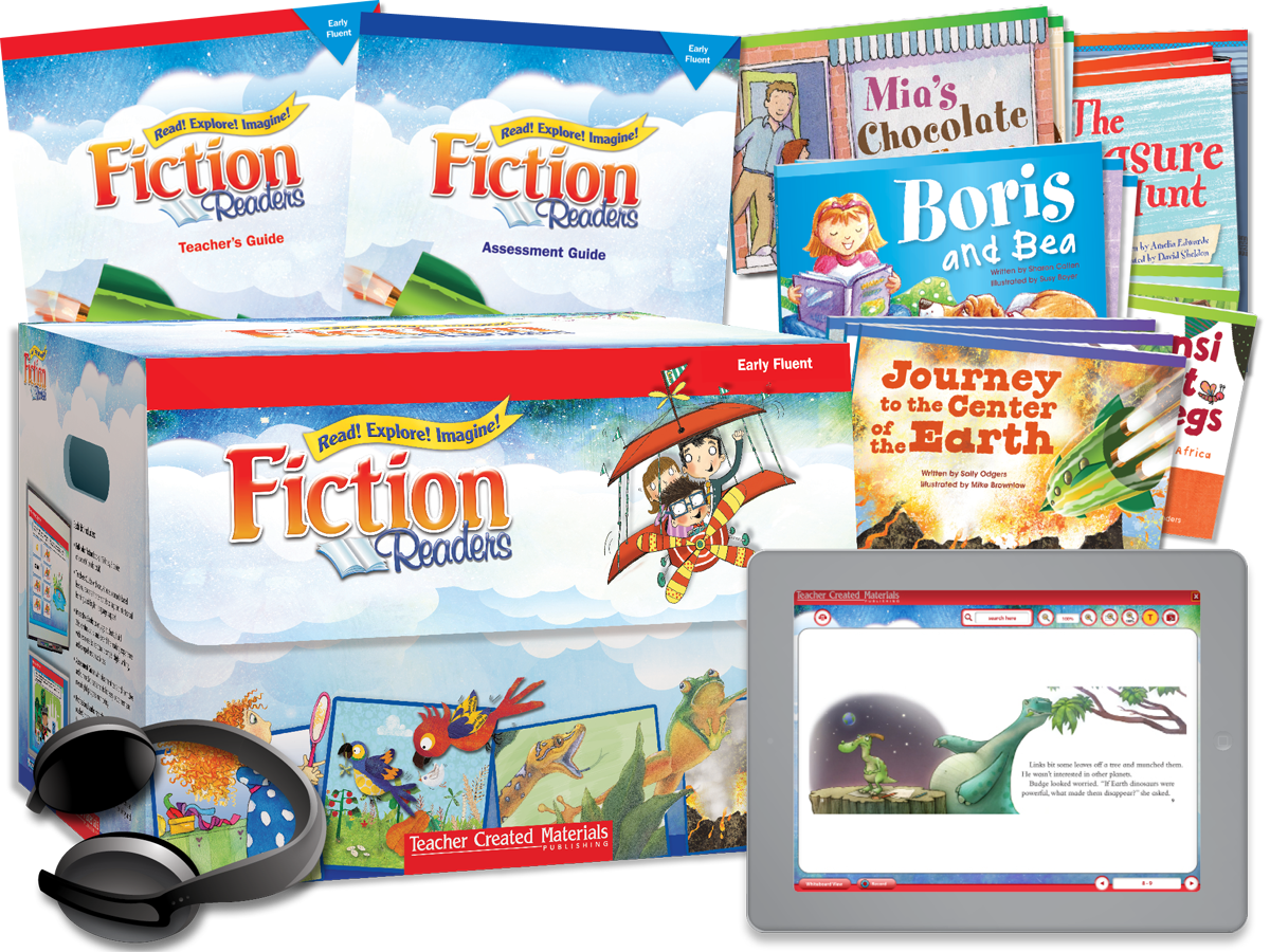 Fiction Readers: Early Fluent Kit