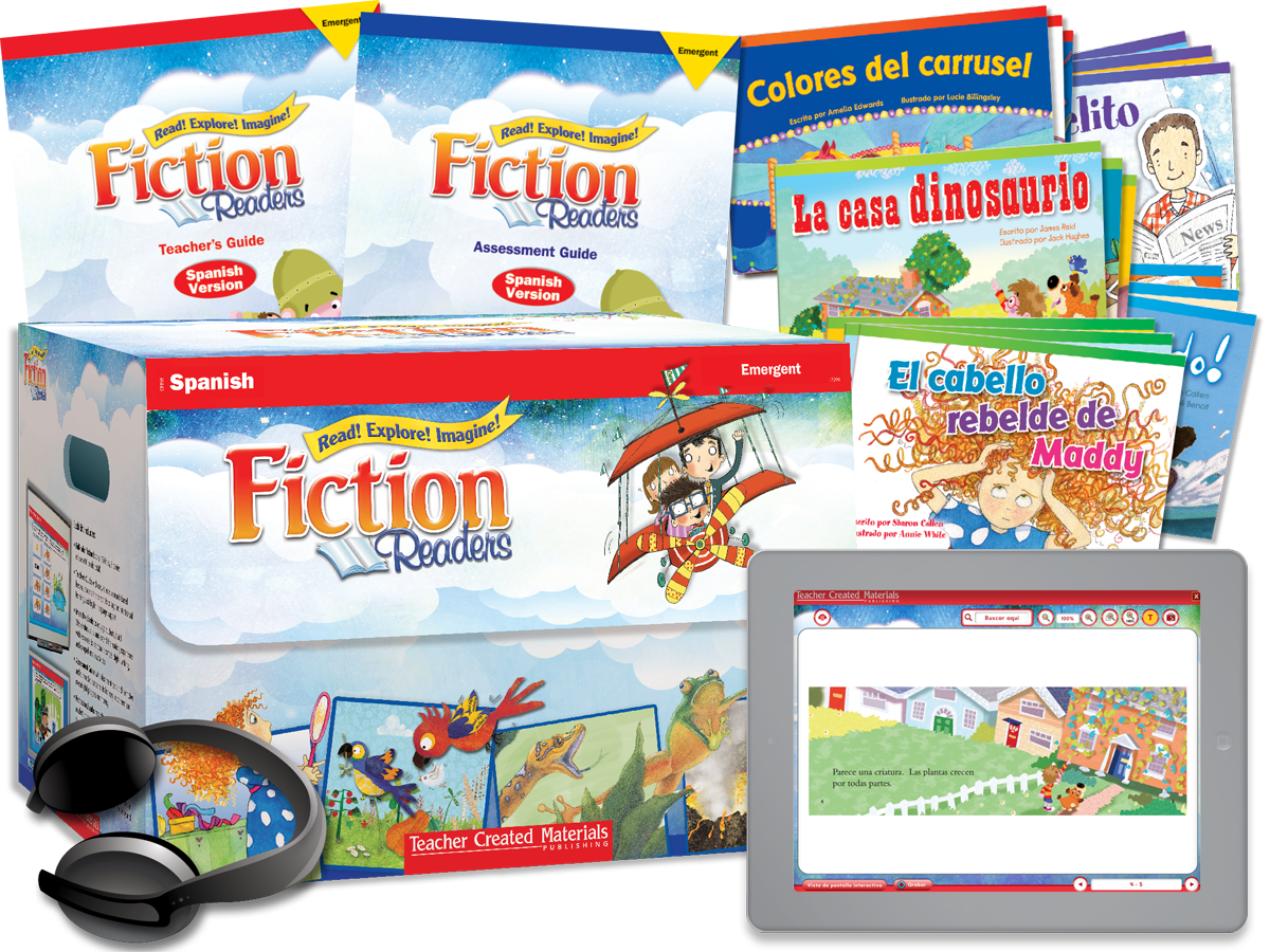 Fiction Readers: Emergent Kit (Spanish Version)