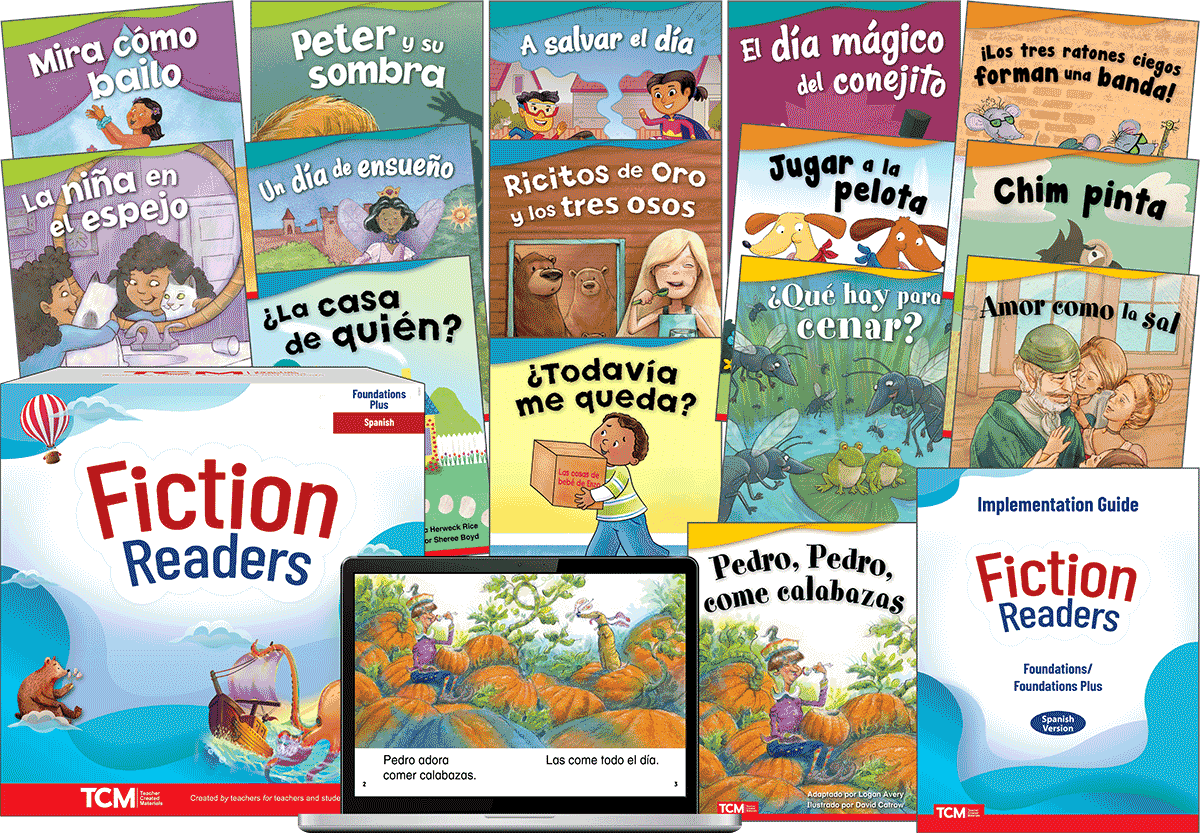 Fiction Readers: Foundations Plus  (Spanish)