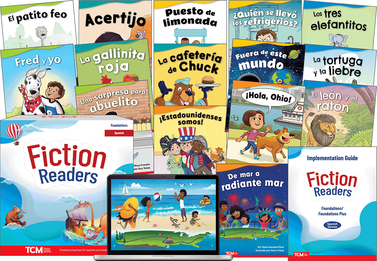 Fiction Readers: Foundations Complete Kit (Spanish)